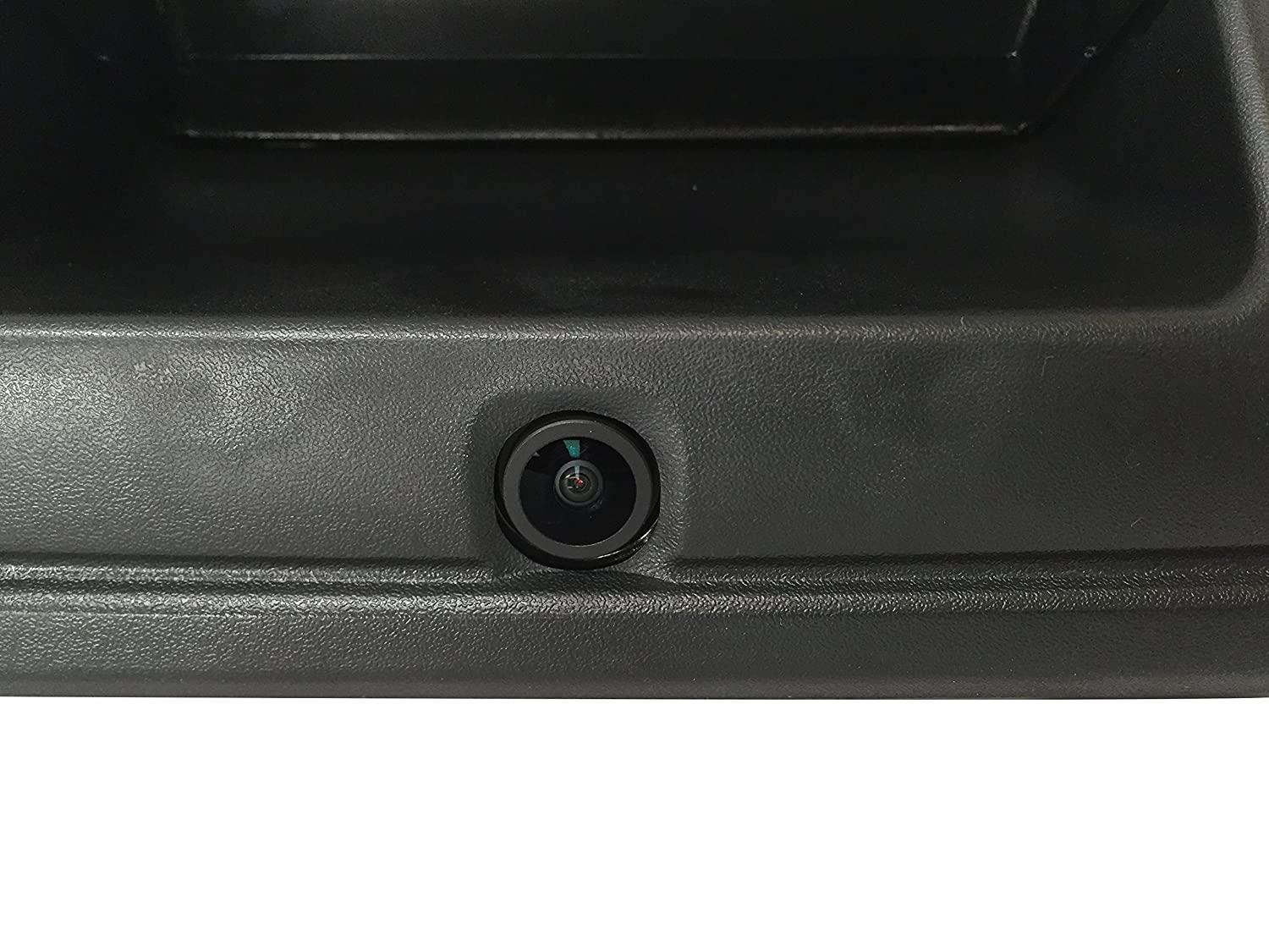 Master Tailgaters Replacement for Chevrolet Silverado and GMC Sierra 2014-2015 Black Tailgate Backup Reverse Handle with Camera MT-CSGS14B