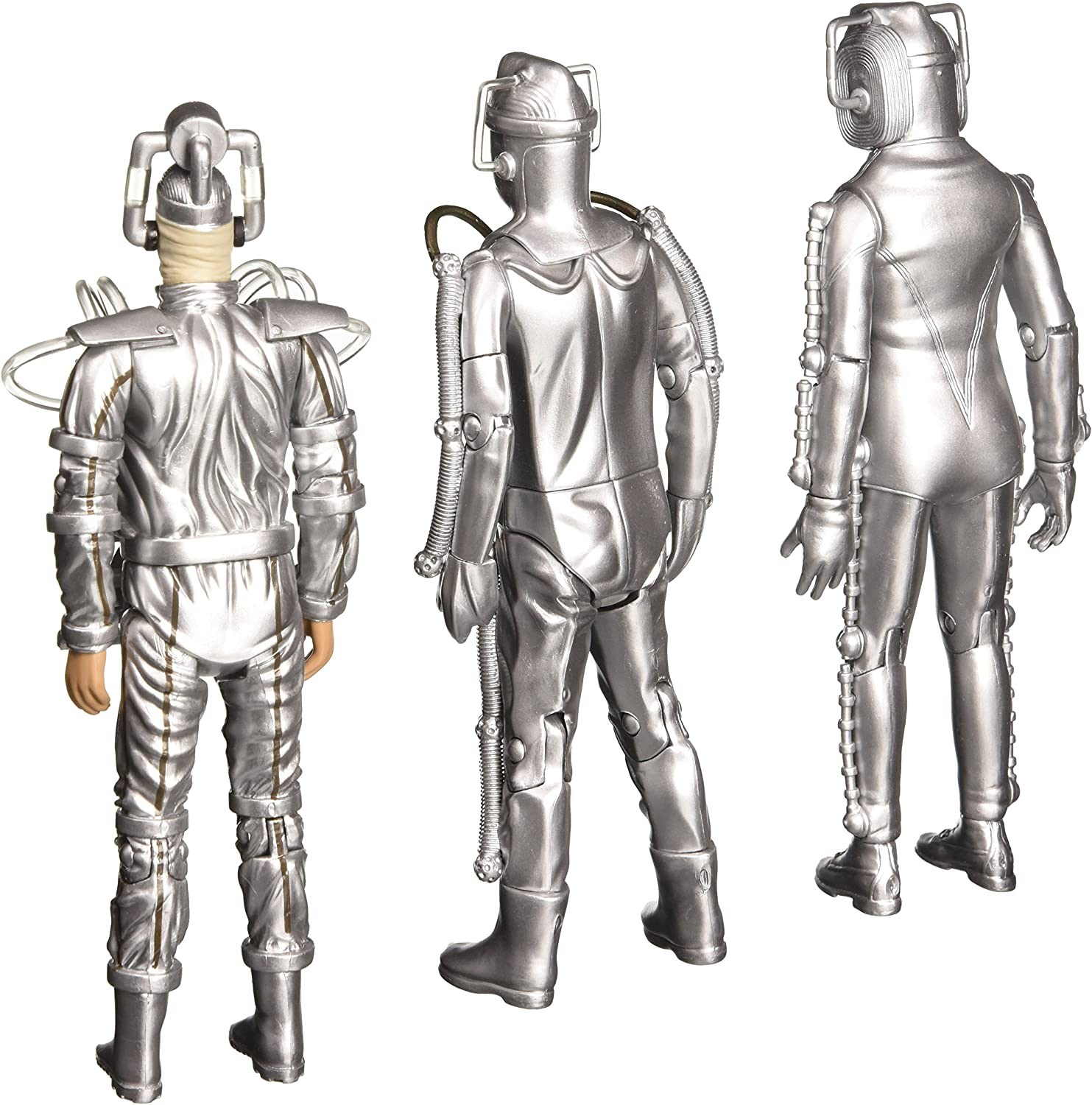 Doctor Who CLASSIC INVASION CYBERMAN Action Figure OLD head lost some