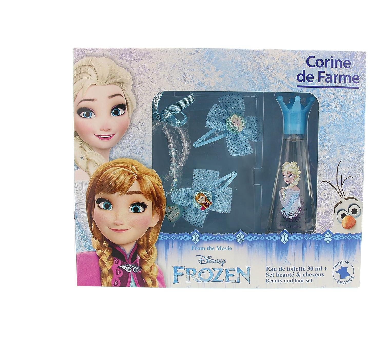 Corine di Farme Cofanetto Frozen Acqua di Toilette + 2Barrette + anello + Bracciale 30ml Corine de Farme 096308