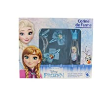 Corine de Farme - Coffret Disney Princesses - Frozen Eau de Toilette + 2 Barrettes + Bague + Bracelet 30 ml