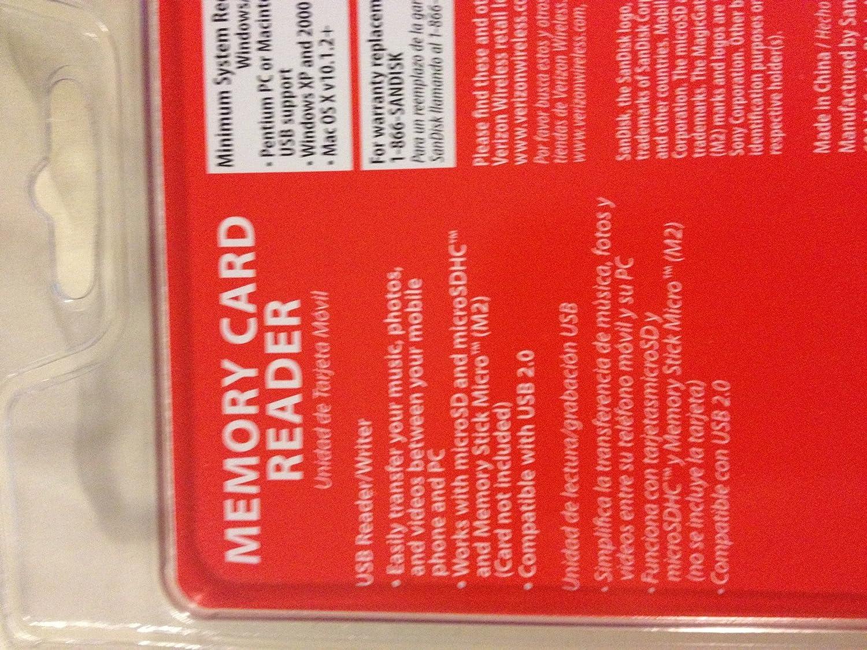 SanDisk MobileMate Micro Memory Card Reader