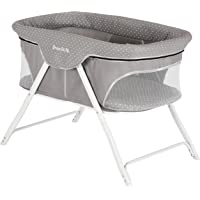 Dream On Me Traveler Portable Bassinet, Twinkle Grey