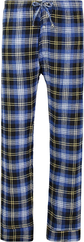 Bill Baileys Mens 100/% Cotton Flannel Pajama Pants Lounge Pants Sleep Pants Bottoms Sleepwear