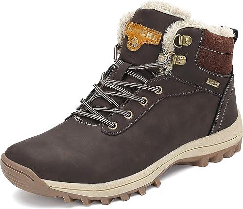 Neu Herren Schuhe Winterschuh Warm Gefüttert