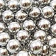 300 Stück Orig. shoot-club Marken- Schleudermunition Kaliber 8 mm Stahlkugeln Schleuder Munition für Katapult - Zwille + 10 original ShoXx.® Zielscheiben 14x14 cm mit 250 g/m²