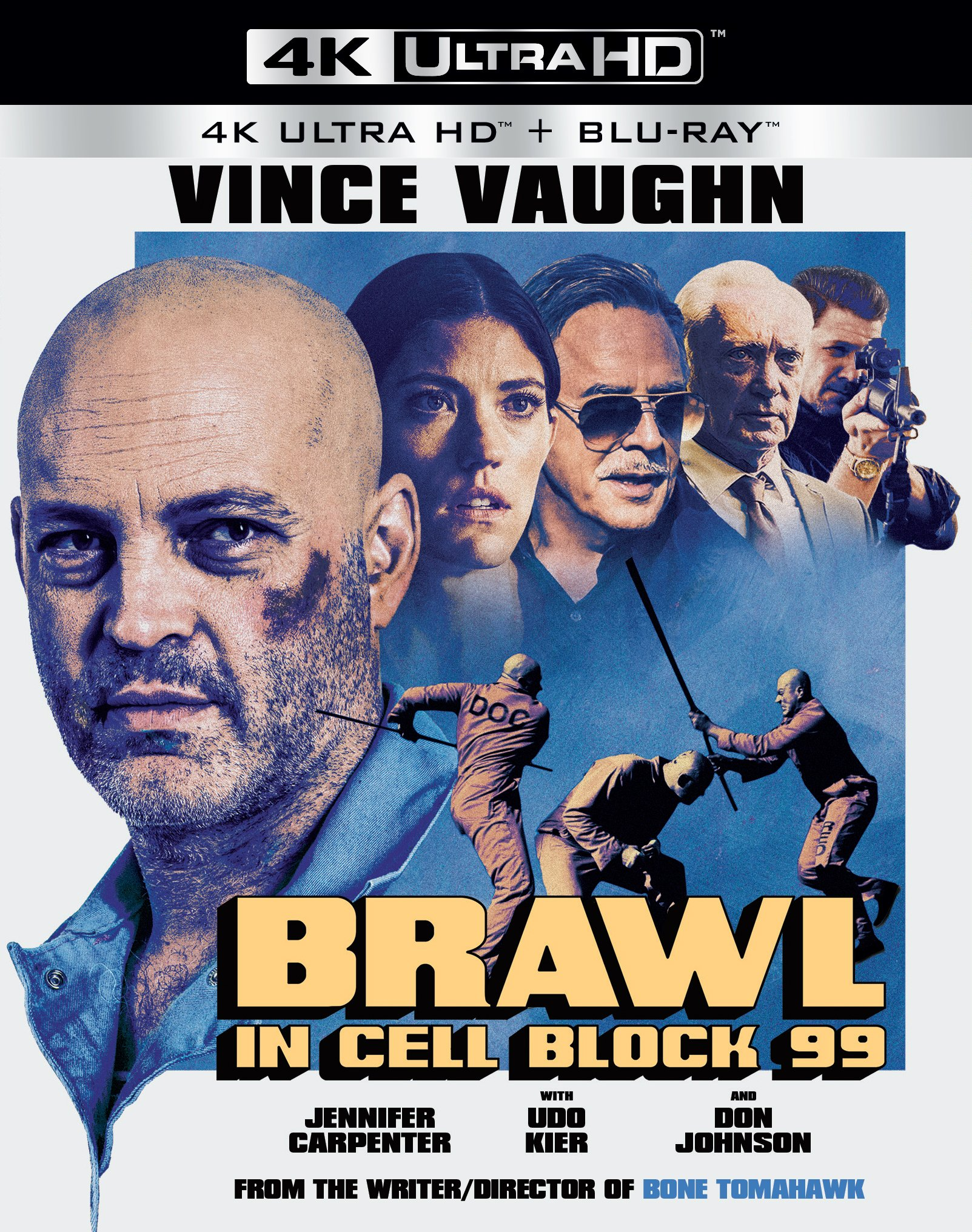 4K Blu-ray : Brawl In Cell Block 99 (Ultra HD)