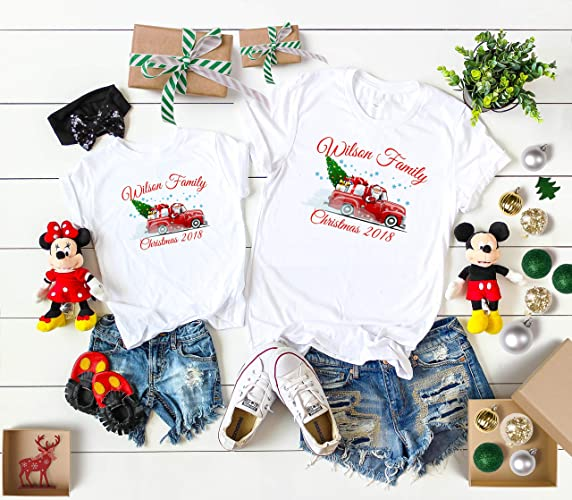 006b472d Amazon.com: Christmas 2108 matching Family shirts Custom Name, Xmas family  matching shirts,Xmas family shirts from 6 Months up to Adults 4XL: Handmade