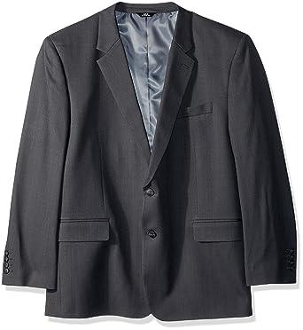 707753cfc3 Haggar Men s Big and Tall B T Stria Tic Stretch Classic Fit Suit Separate  Coat
