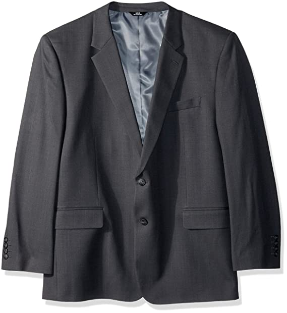 Amazon.com: Haggar B&T Stria Tic - Abrigo para hombre (talla ...