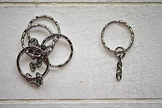 10 anillos llaveros para la forma de hacer manualidades de ...