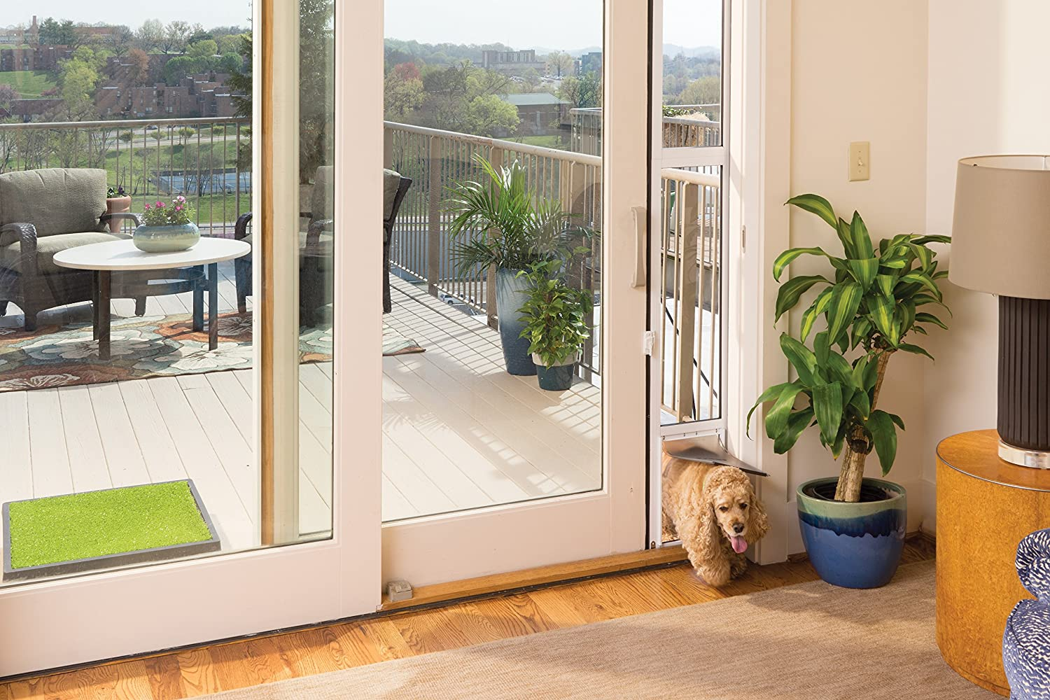 Amazon Petsafe 2 Piece Sliding Glass Pet Door Great For