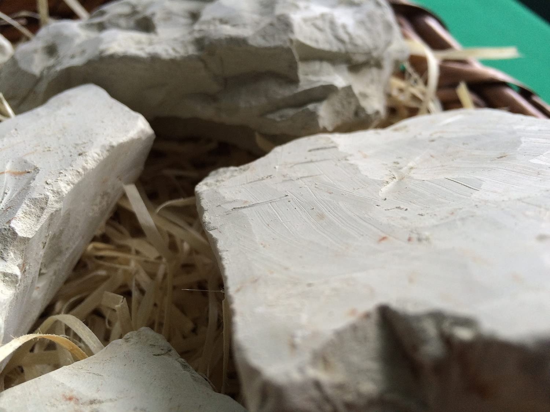 GREEN edible Clay chunks 230 g food natural for eating 8 oz lump