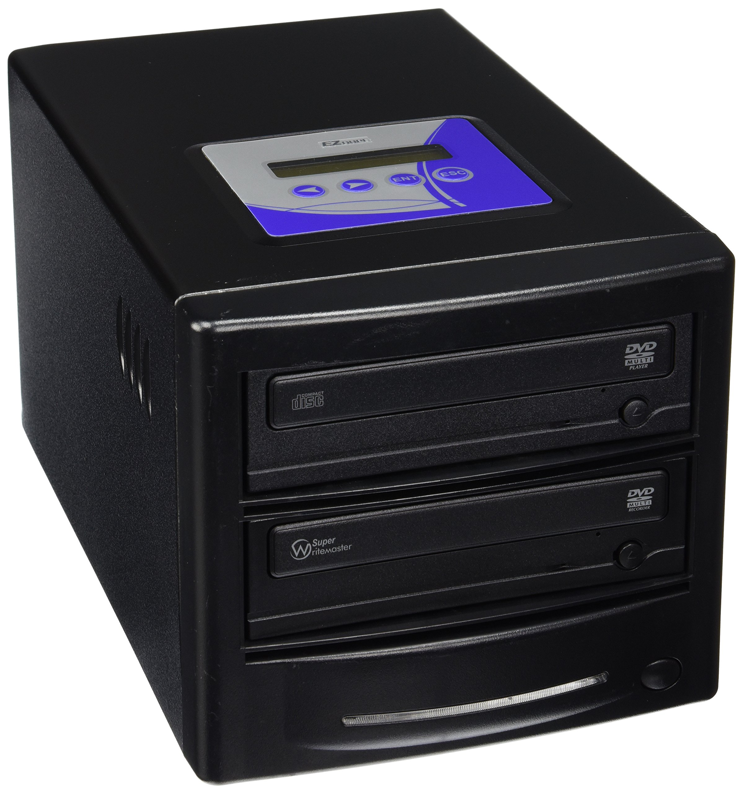 EZ Dupe EZD1TDVDLGB Professional 1 Target 24x DVD/CD Duplicator Optical Drive 2.5'' by EZ DUPE