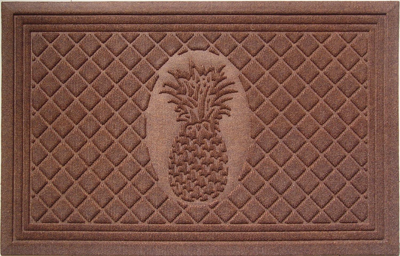 "Entryways Pineapple Weather Beater Polypropylene Mat 22"" X 35"" X 5mm"