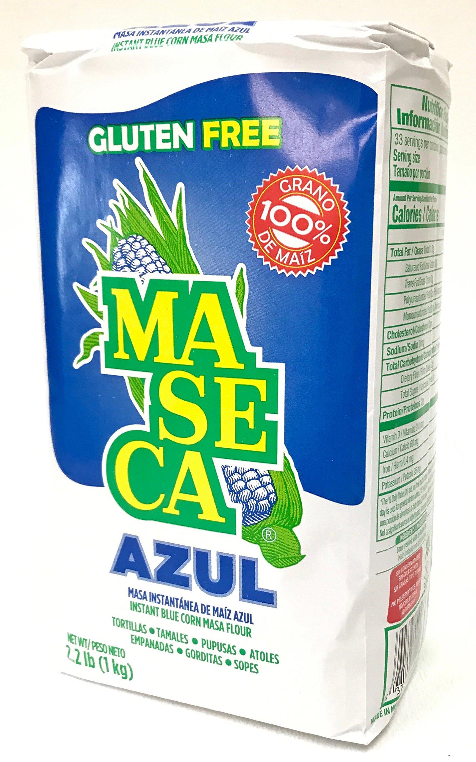 Amazon Com Maseca Instant Yellow Corn Masa Flour 2 2lb