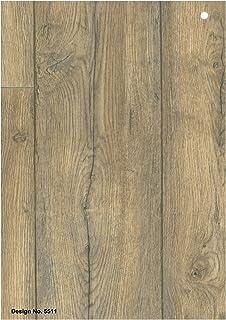 Wood Effect Anti Slip Vinyl Flooring Home Office Kitchen - 2x2 vinyl floor tile