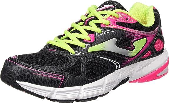 Joma R.vitaly Lady 601 Negro-Fucsia - Zapatillas de Running Mujer: Amazon.es: Zapatos y complementos