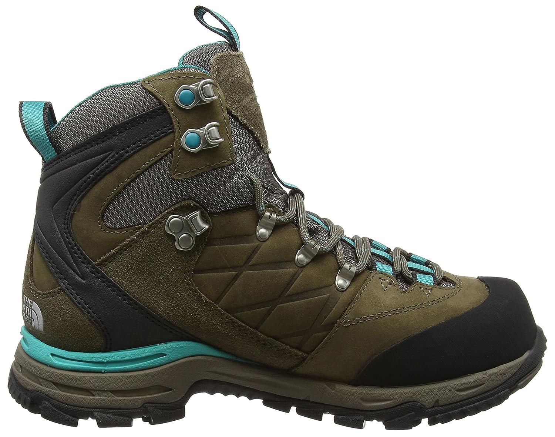 The North Face W VERBERA HIKER II GTX, Women's High Rise Hiking Shoes,  Green (Weimaraner Brown/Jaiden Green M6E), 7.5 UK (40.5 EU): Amazon.co.uk:  Shoes & ...