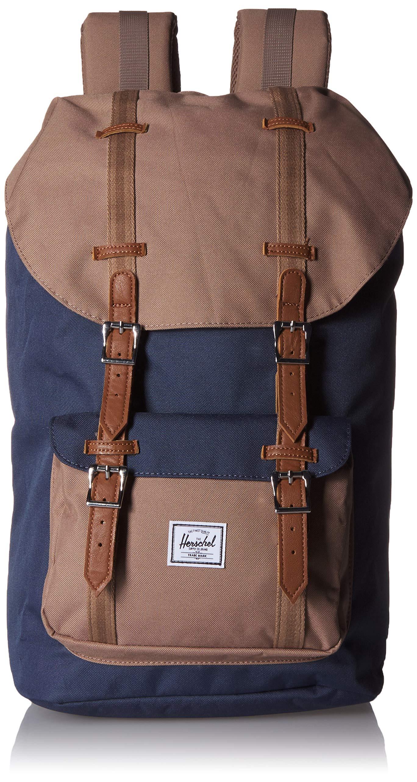 Herschel Little America Backpack, Navy/pine