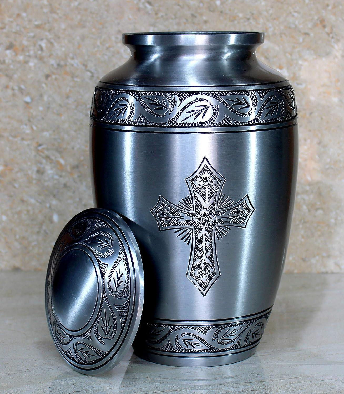 Full Size Standard Urns Burial Urns. Metal Urns Cremation Urns eSplanade Cremation urn Memorial Container Jar Pot
