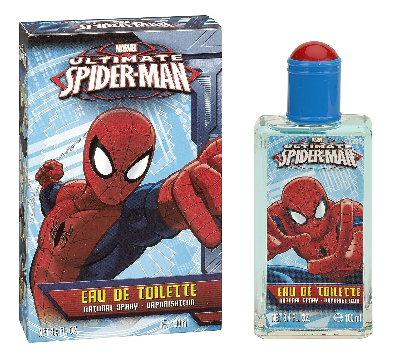 Mattel 5548 Eau de Toilette, Spiderman, 100 ml, Rosso Universal Beauty Market