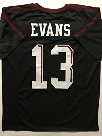 Unsigned Mike Evans Texas A M Black College Custom Stitched Football Jersey  Size Men s XL New No 5c27d6787