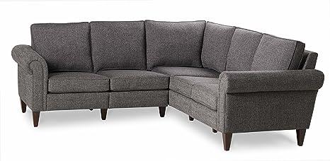 Amazon.com: Homeware Avery Dos Esquina Dos Seccional sofá ...