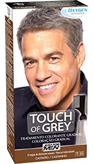 JUST FOR MEN Touch of Grey - Tratamiento colorante gradual - Tinte para las canas del