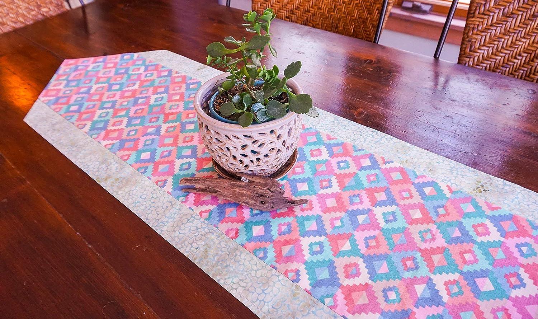 Amazon Com Southwestern Table Runner Desert Decor Pastel
