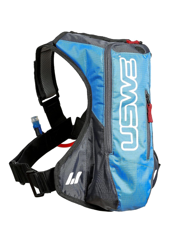 USWE Sports A2 Challenge Hydropack 201221 - Mochila de hidratación para adultos (410 x 320 x 80 cm 15 litros de capacidad) color azul y gris: USWE: ...