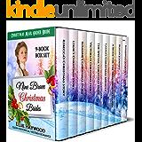 Christmas Mail Order Bride: Nine Brave Christmas Brides: A Nine-Book Box Set: Clean Historical Western Romance