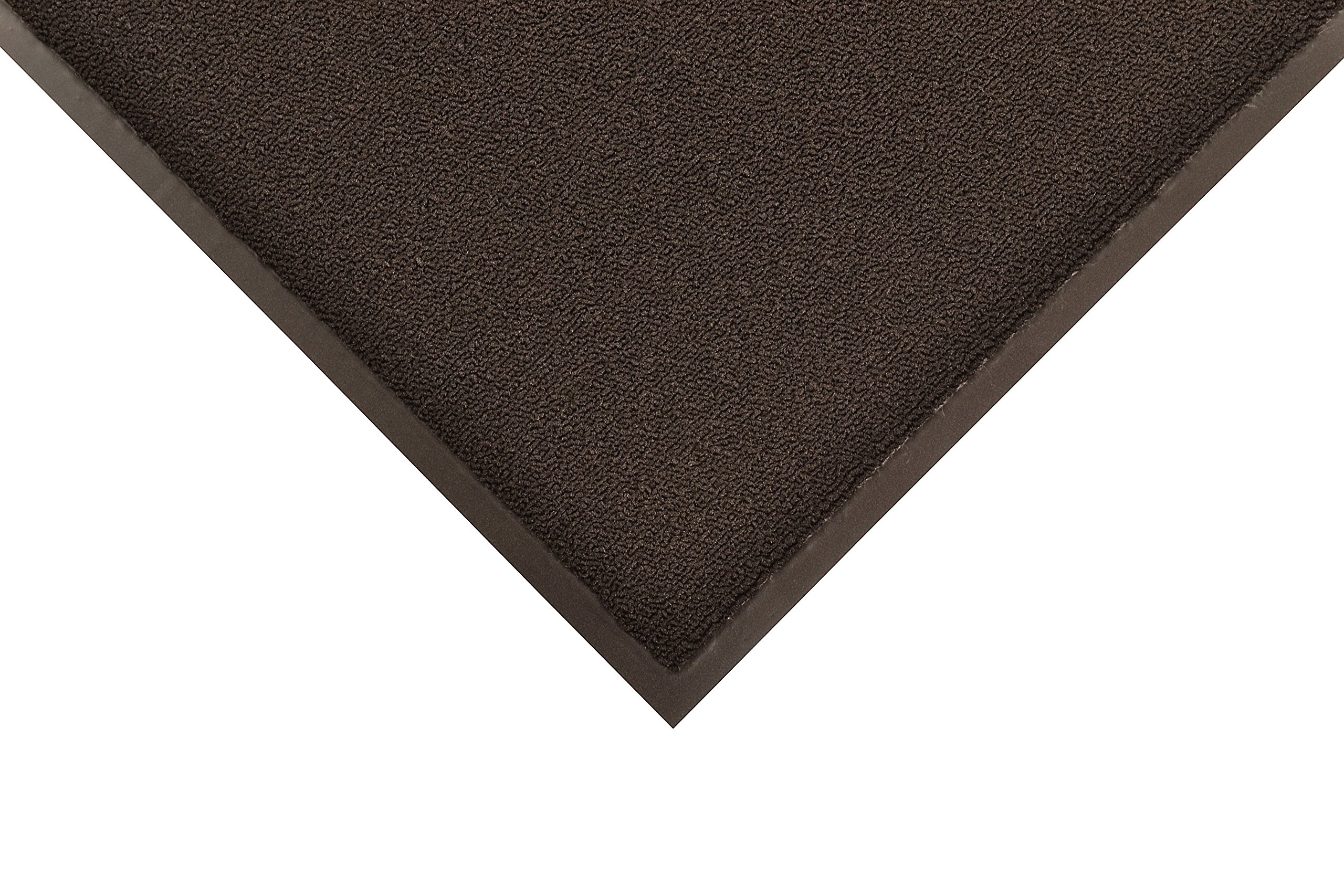 Notrax 141 Ovation Entrance Mat, for Main Entranceways and Heavy Traffic Areas, 2' Width x 3' Length x 5/16'' Thickness, Black