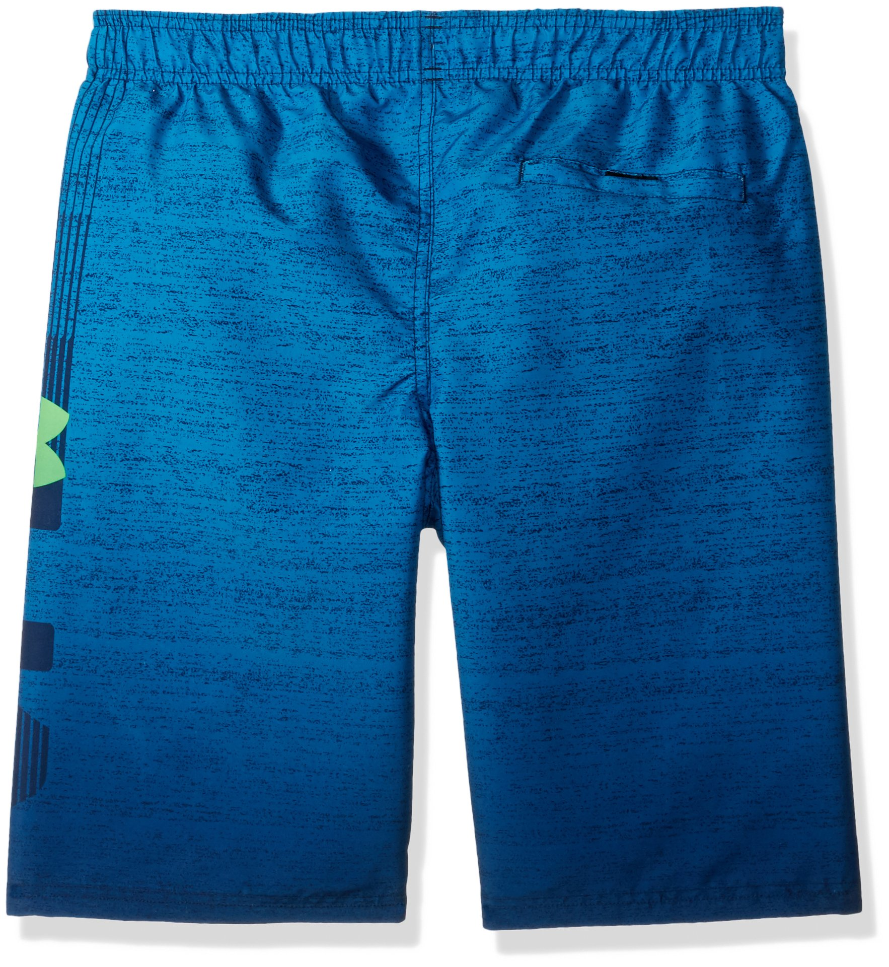 Under Armour Dipper Volley Big Boys' Swim Shorts, Academy/Orange, X-Large by Under Armour (Image #2)