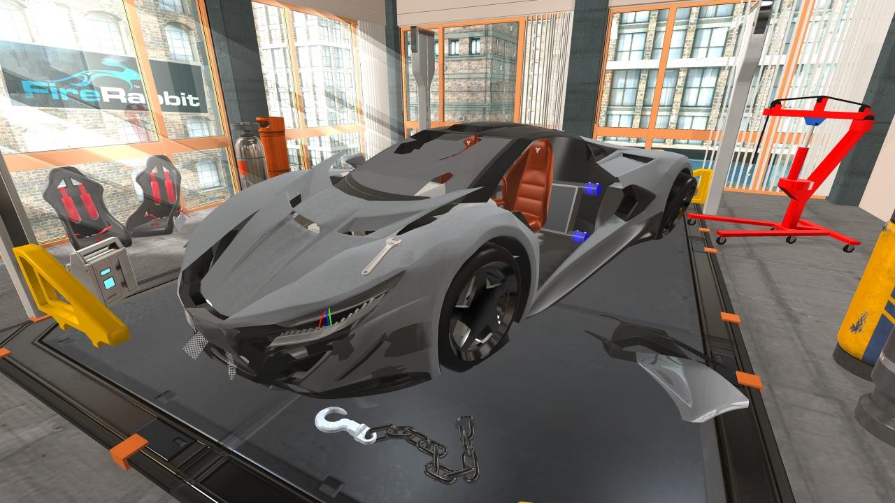 Fix My Car >> Amazon Com Fix My Car 3d Concept Gt Supercar Mechanic Shop