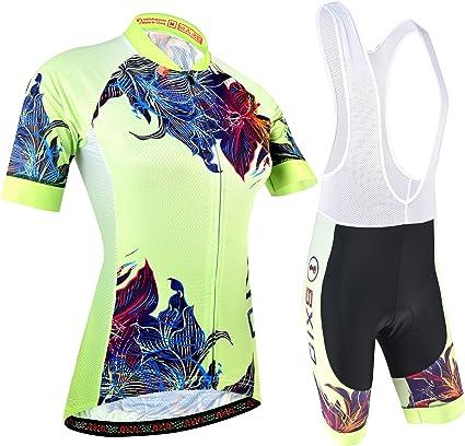 Homme Maillot de cyclisme à manches courtes bib shorts Set Cuissard Cyclisme Cycling Bibs
