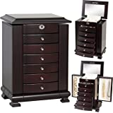 Amazoncom Armoire Jewelry Cabinet Box Storage Chest Stand
