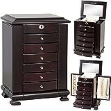 Amazoncom Armoire Jewelry Cabinet Box Storage Chest Stand