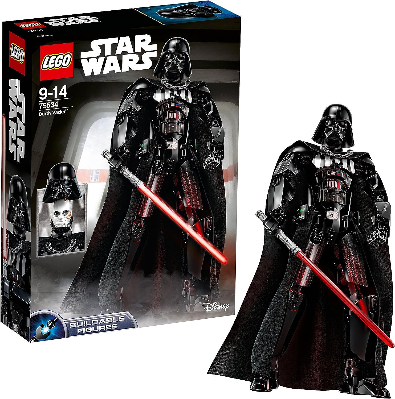 LEGO Star Wars- Darth Vader lego Juego de Construcción, Multicolor, única (75534)