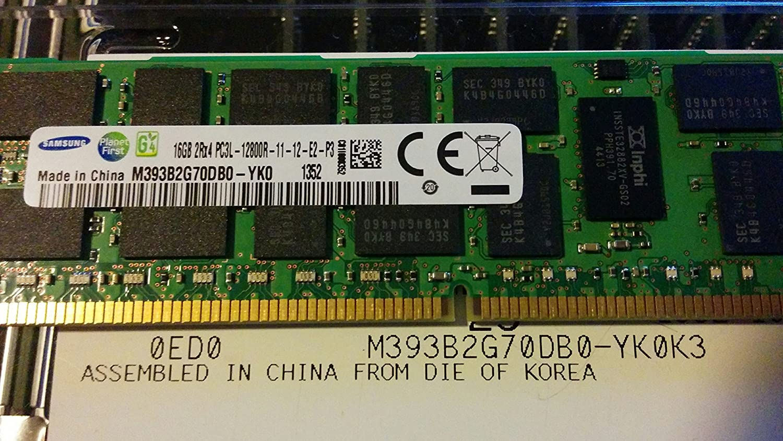 Samsung Ddr3 1600 16gb 2gx72 Ecc Reg Cl11 Chip Server Memory Pc3 12800r Rdimm At