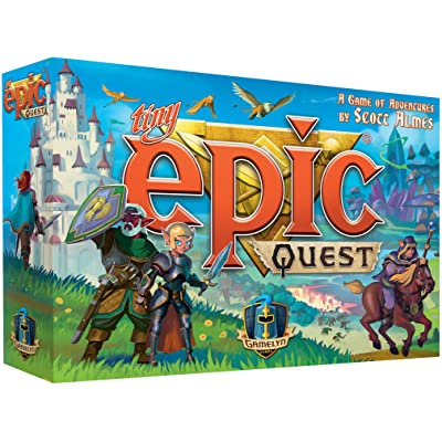 Tiny Epic Quest Fantasy Board Game: A Small Box Adventure: Toys & Games