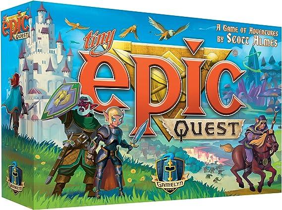 Gamelyn Games Juego de Mesa Tiny Epic Quest, Juegos de Cartas, Los Mejores Precios: Amazon.es: Juguetes y juegos
