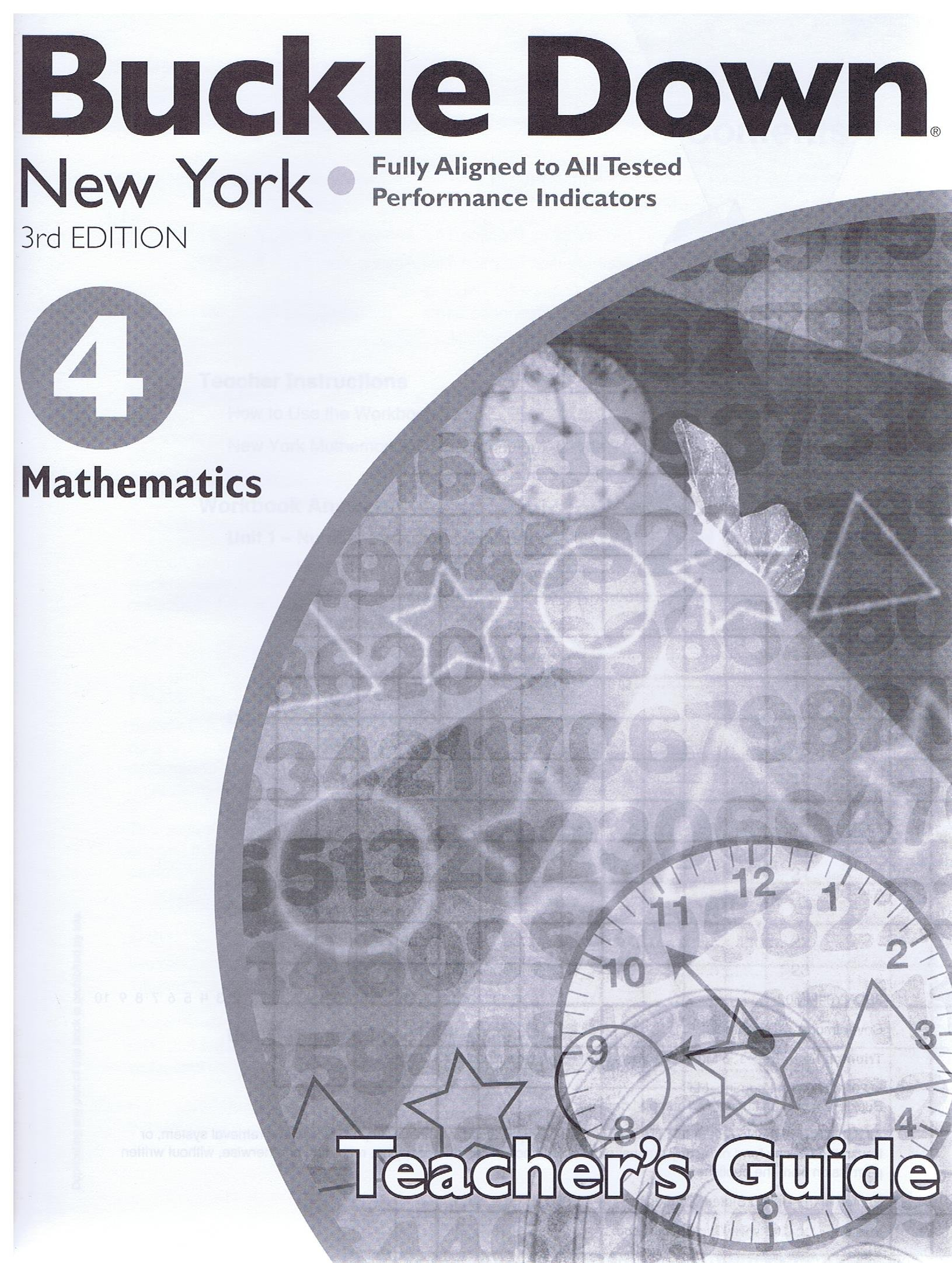 Download Buckle Down 3rd Edition New York G4 Math Teacher's Guide (Buckle Down) PDF