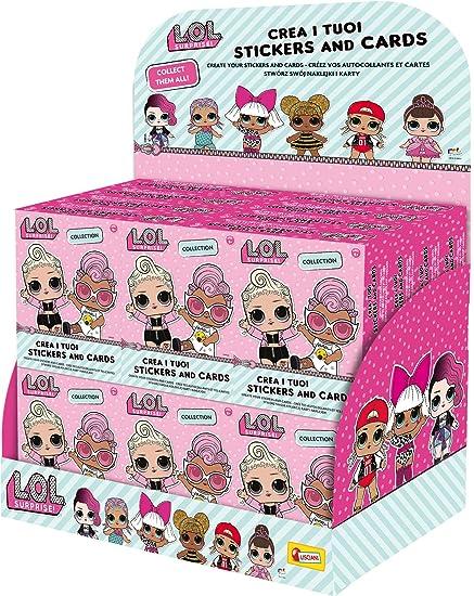 Lisciani Stickers y tarjetas a coleccionables LOL Surprise 73788, Rosa , color/modelo surtido: Amazon.es: Juguetes y juegos