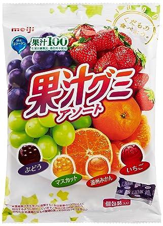 Amazon | 明治 果汁グミアソート...