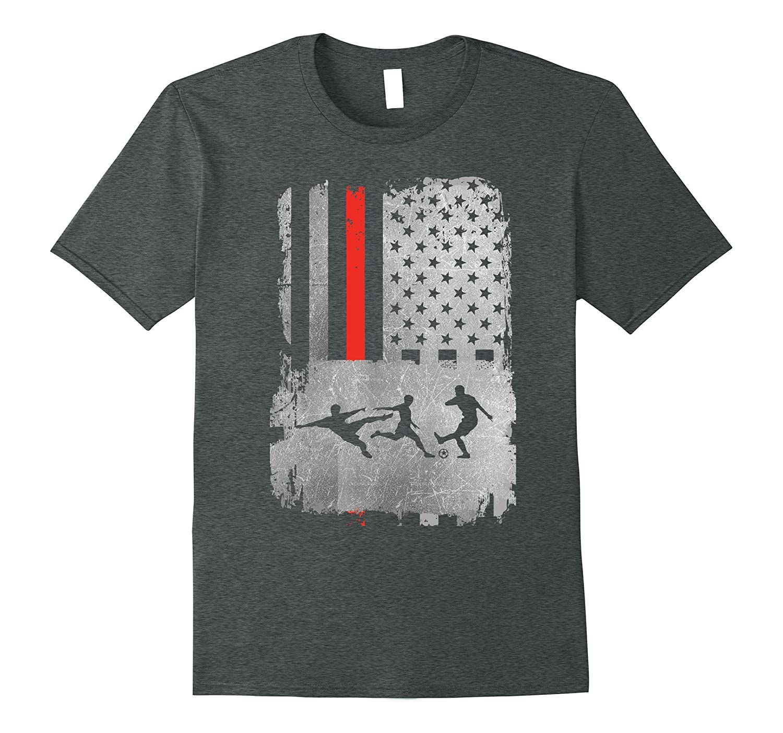 f75d5b91ab1 American Flag Soccer T-shirt USA National Team American Tee –  Febaaccessories.com