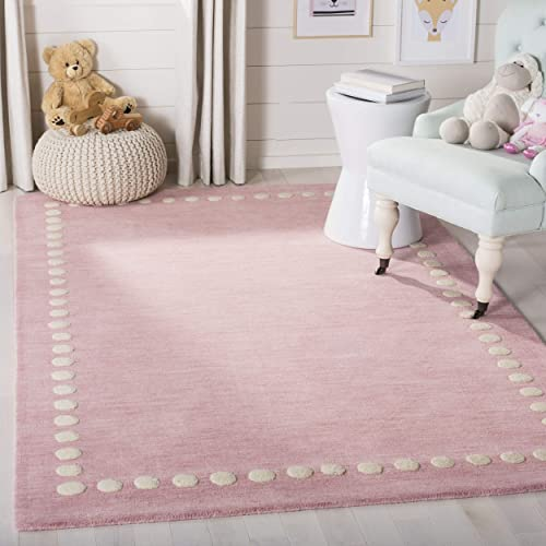 Safavieh Area Rug, 4 x 6 , Pink