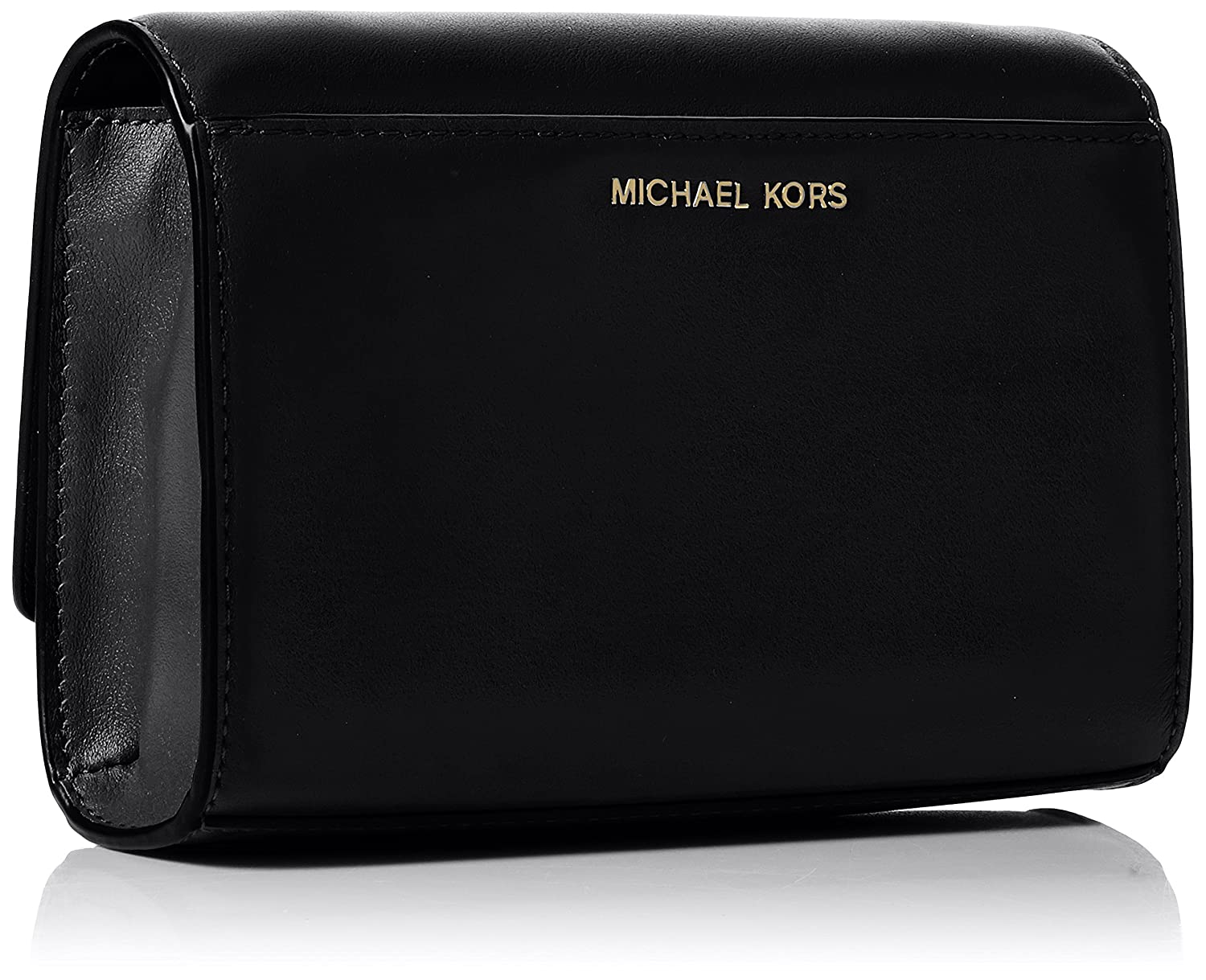 d85b0cf353 Michael Kors Womens Ruby Clutch Black (Black) 30H7GR0C2O  Handbags   Amazon.com