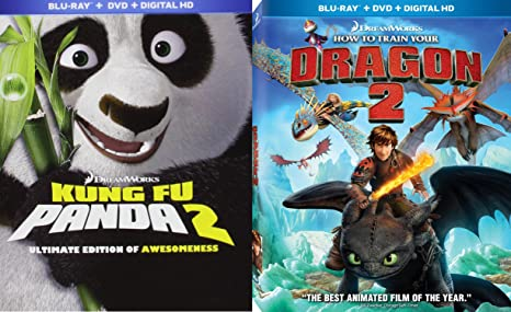 Amazon how to train your dragon 2 kung fu panda 2 sequel set how to train your dragon 2 kung fu panda 2 sequel set from the creators ccuart Choice Image