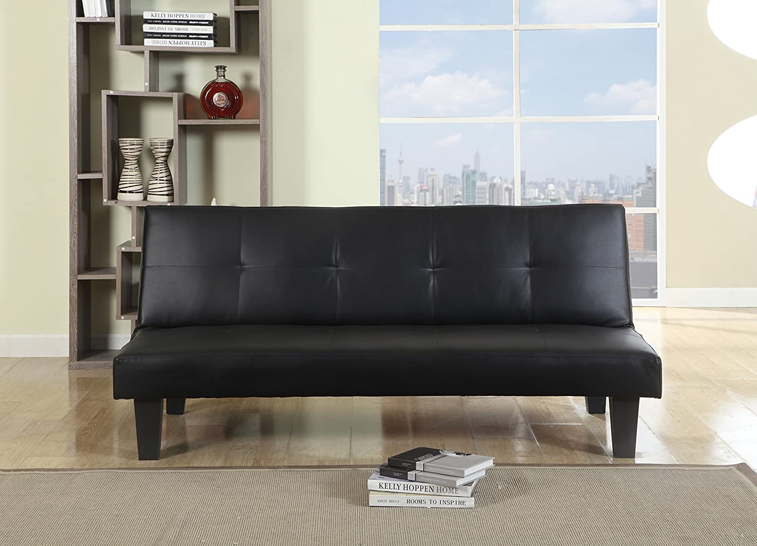 brown leather sofa bed. Birlea Franklin Sofa Bed - Faux Leather, Black: Amazon.co.uk: Kitchen \u0026 Home Brown Leather