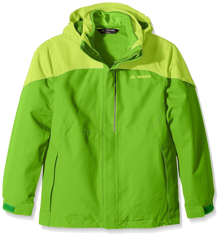 VAUDE yalca Little Champion 3-in-1 Jacket, otoño/Invierno, Infantil, Color Verde - Verde, tamaño 6 años (116 cm) [DE 110/116] 05192